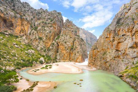 Torrente de Pareis, island of Mallorca, Balearic islands, Spain