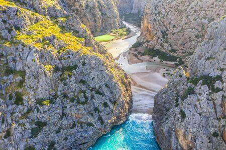 Torrente de Pareis, island of Mallorca, Balearic islands