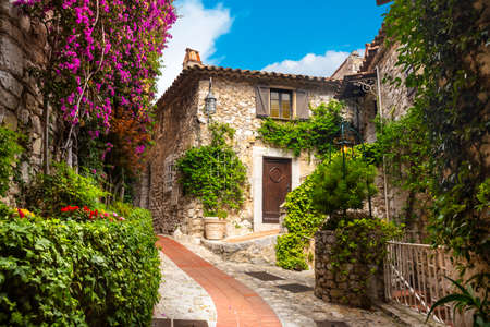 The Village of Eze, Provence, Southern France