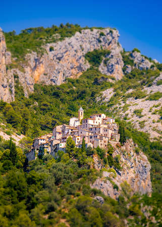 The Village of Peillon, Provence, Southern France