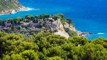 View on old part of Cassis, Provence, South France, Europe, Mediterranean sea