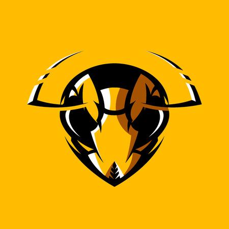racing sign: Furious hornet head badge.