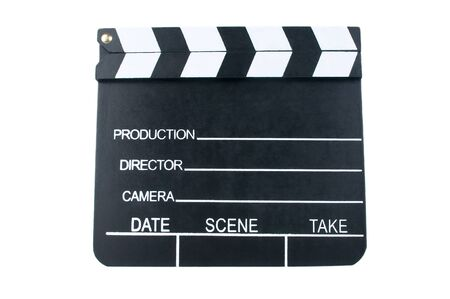 Movie clapper Stock Photo - 12325492
