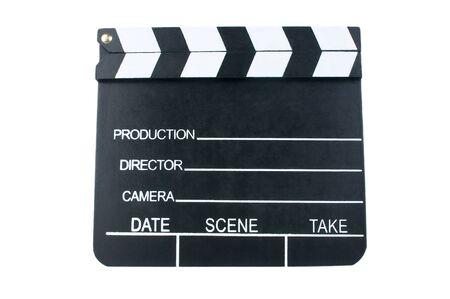 Movie clapper Stock Photo - 12325492