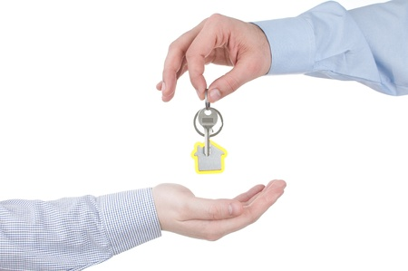 Handing Over the House Keys photo