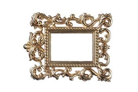 Marco de oro vintage Foto de archivo - 13110831