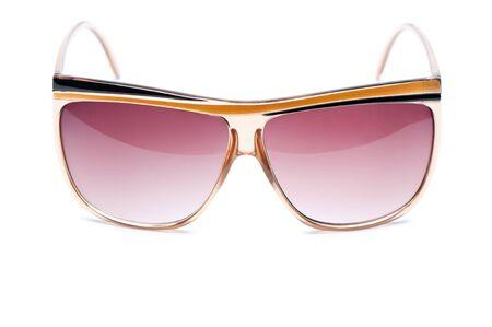 elegant nerd Glasses with white background photo