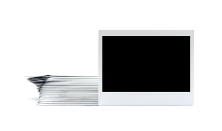 instant picture isolated on the white background Stock Photo - 16611844