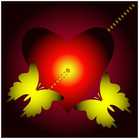 pierce: Broken Heart Illustration
