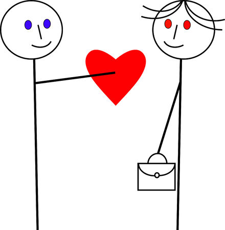 school bag: Funny Love