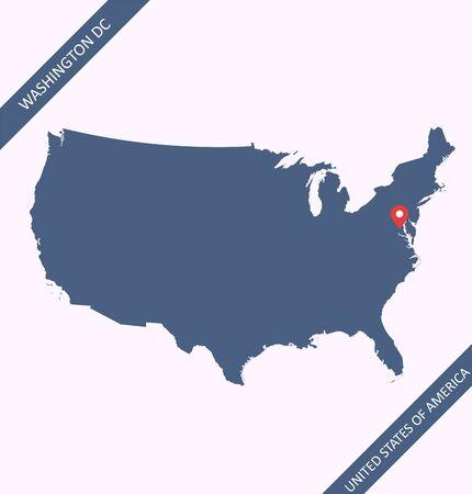 Map of USA