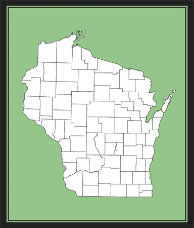 Wisconsin county map downloadable
