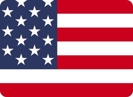US flag icon vector background