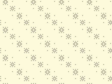 Dots seamless patterns black and white background of snowflakes