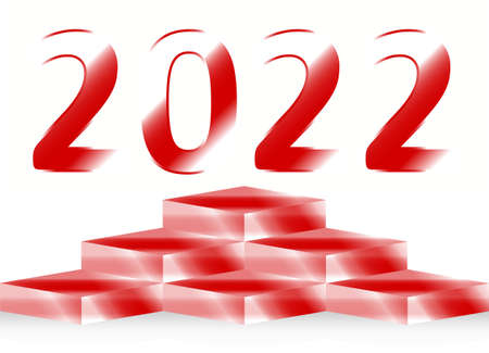 2022 the year of success Illustration