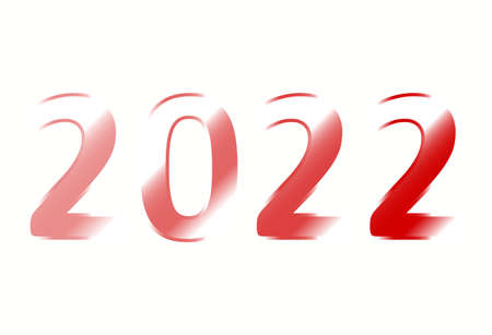 New Year 2022 is loading