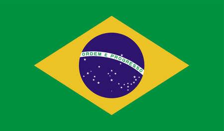 Brazil flag downloadable Illustration