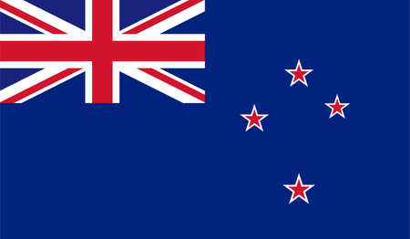 New Zealand flag downloadable Illustration