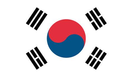 South Korea flag downloadable