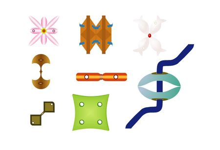 Various buttons and fasteners for clothes Stock Photo - 5093025