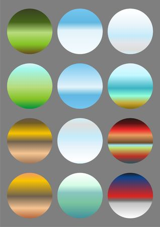 A different background of the nature, drawn in the form of small circles. Stock Photo - 6250507