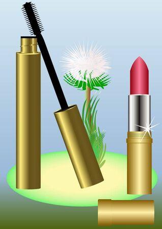 Perfumes para las mujeres con el trasfondo de un diente de Le�n.