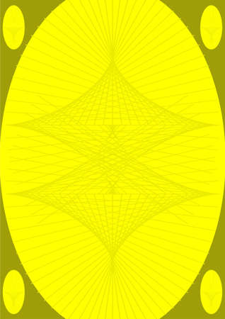 substrate: Other direction of the lines on a yellow background with dark green substrate