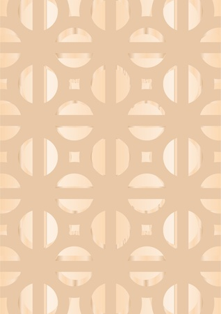 Patterns in a decorative pattern on a beige background