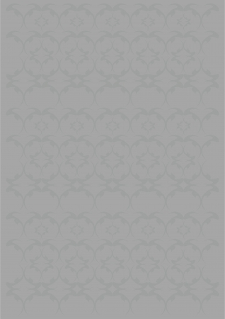 originalidad: Calados diferentes formas monograma gris sobre un fondo gris Vectores