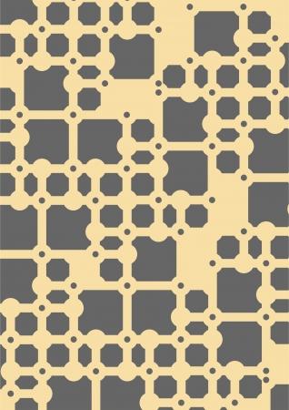 haltbarkeit: Ein kleiner Teil der Kartonunterlagen f�r ein komplexes System Illustration