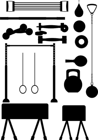 Adaptations for different sports, on a white background