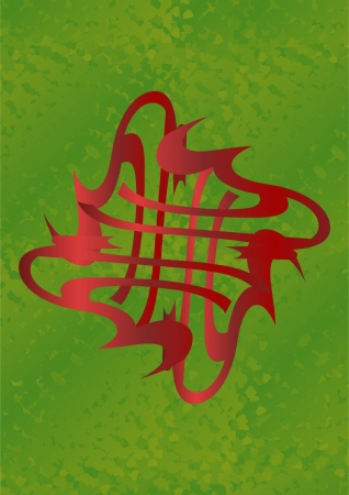 L�nea ondulada dirigido a fondo de la perla con un tinte verde