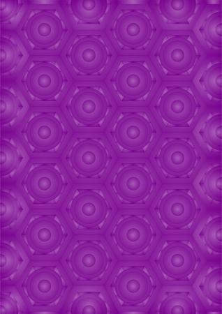originalidad: Calado viol�ceo monograma formas diferentes, sobre un fondo viol�ceo