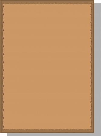 prestige: A framework for drawings and photos, on a beige background