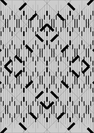 Different lines in length, width, height, on a gray background.
