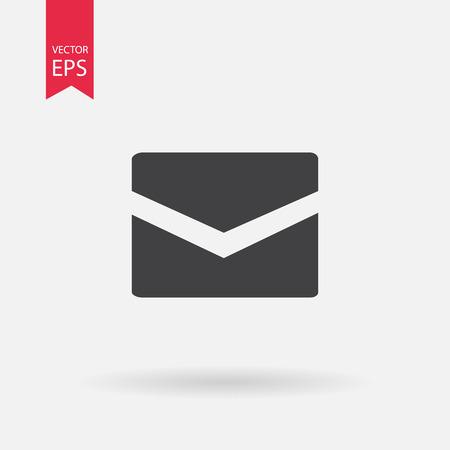 envelope icon: Message closed envelope icon