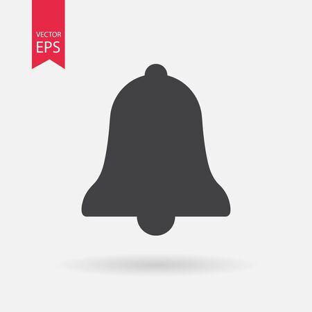 Icono de campana Ilustración de vector