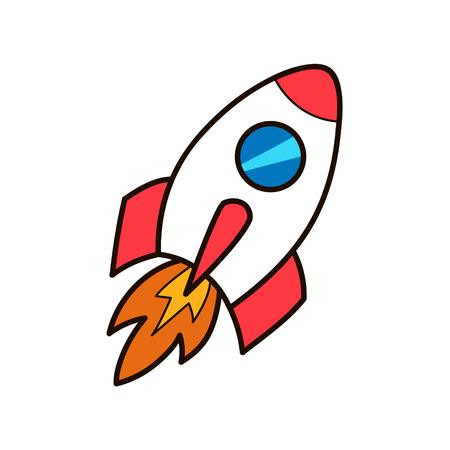 로켓 발사.