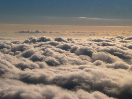 chirpy: Big clouds, shot from airplane