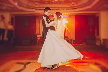 romantic couple dancing on their wedding hd stock photo picture and