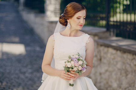 historic architecture: beautiful summer wedding in a beautiful historic architecture
