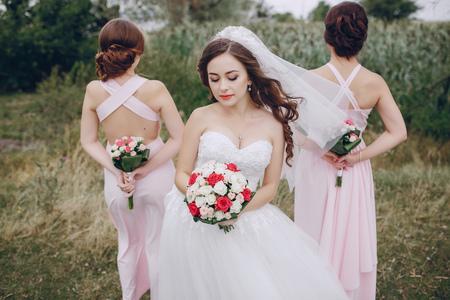 bridesmaid bride HD