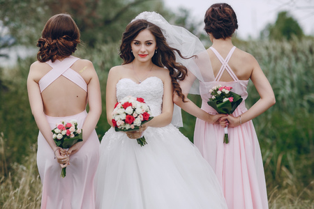 bridesmaid bride HD