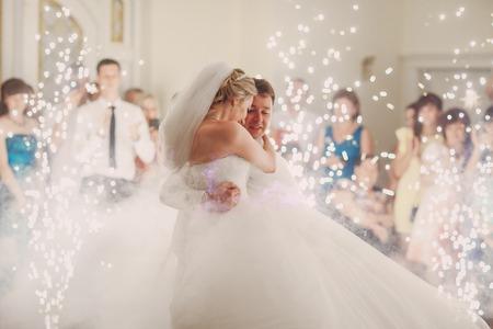 Bruiloft eerste dans