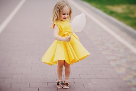 little beautiful gir Stock Photo