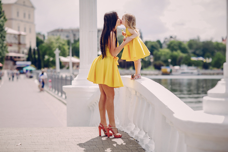mother and daughter Stock Photo - 75558607