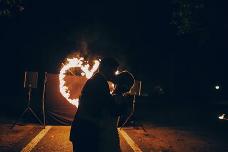 fireshow in awedding
