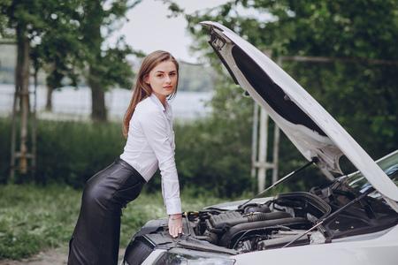 broke the car