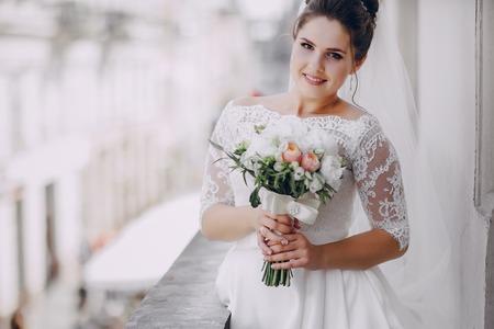 흰 드레스의 신부