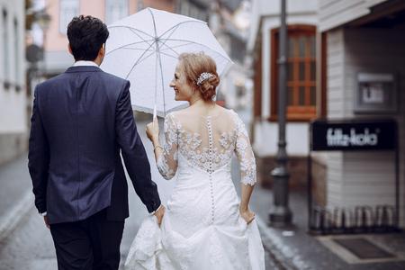 bride and groom Stock Photo - 81377186